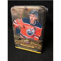 2018-19 UPPER DECK SERIES 1 HOCKEY FACTORY SEALED TIN