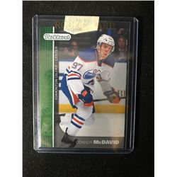 2015-16 Connor McDavid Green Parkhurst Rookie Card