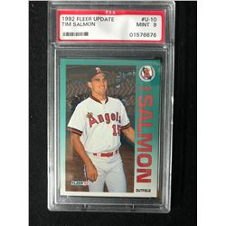 1992 FLEER UPDATE #U-10 TIM SALMON (9 MINT) PSA GRADE
