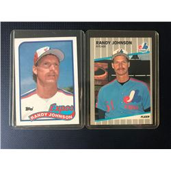 RANDY JOHNSON BASEBALL CARD LOT