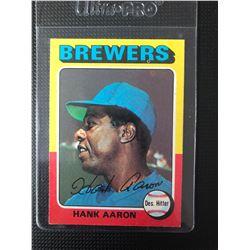 1975 Topps Hank Aaron #660