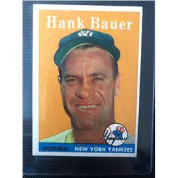 1958 TOPPS #9 HANK BAUER