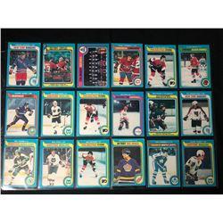 1979-80 TOPPS HOCKEY CARD LOT