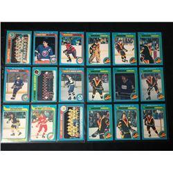HOCKEY TRADING CARDS LOT (1979-80 O-Pee-Chee...)