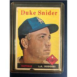 1958 Topps #88 Duke Snider
