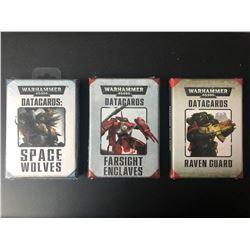 WARHAMMER 40K DATA CARDS