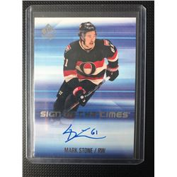 SP AUTHENTIC SIGN OF THE TIMES MARK STONE AUTO
