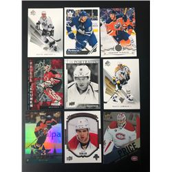 NHL STAR AND ROOKIE CARD LOT
