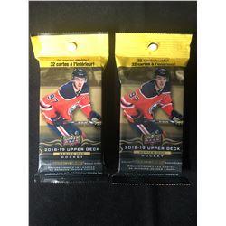 2018-2019 Upper Deck Hockey Series One 32 Card Fat Packs