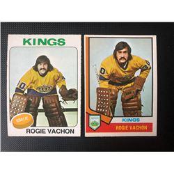 ROGIE VACHON HOCKEY CARD LOT