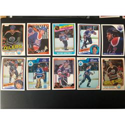 EDMONTON OILERS HOCKEY CARD LOT