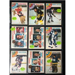 1978-79 OPC STAR CARD LOT