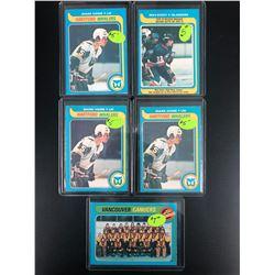 1979 OPC STAR CARD LOT