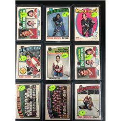 1970'S OPC HOCKEY STAR CARD LOT