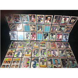 1970'S OPC HOCKEY STAR CARDS LOT