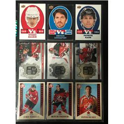 HEIR TO THE ICE STAR AND ROOKIE CARDS LOT