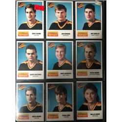 1987-88 Formula Shell Vancouver Canucks Hockey Card Lot