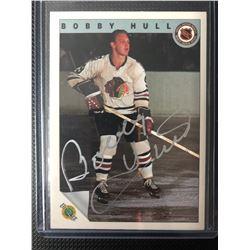 Bobby Hull *AUTOGRAPH* Ultimate Trading Card Company Hockey Card