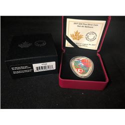 ROYAL CANADIAN MINT HOT AIR BALLOONS $20   .9999 SILVER