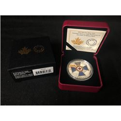 ROYAL CANADIAN MINT 45th ANNIVERSARY  OF THE ORDER OF MILITARY MERIT  $20  .9999 SILVER
