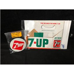 COLLECTIBLE 7-UP LOT (RARE 1970'S RADIO...)