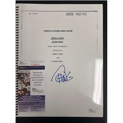 "Tommy Chong Signed ""Cheech and Chong's Next Movie"" Full Script (JSA COA)"