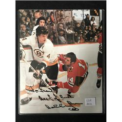 BOBBY ORR SIGNED HOCKEY PHOTO (SOUTH BEACH ENTERPRISES COA)