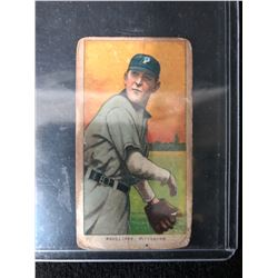 1909 1909-11 T206 Piedmont 350 Back #DEPH Deacon Phillippe Pittsburgh Pirates
