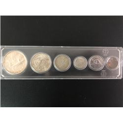 1953  CANADIAN COIN SET .800 SILVER