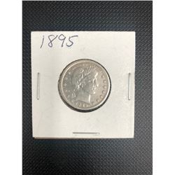 1895 USA   25 CENTS   .900 SILVER