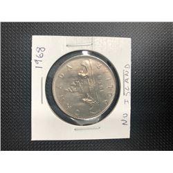 1968  CANADIAN SILVER DOLLAR   .800 SILVER