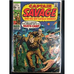 CAPTAIN SAVAGE #18 (MARVEL COMICS)