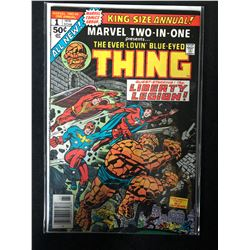 MARVEL TWO-IN-ONE #1 (MARVEL COMICS)