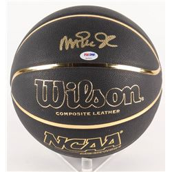 Magic Johnson Signed NCAA Basketball (PSA Hologram)