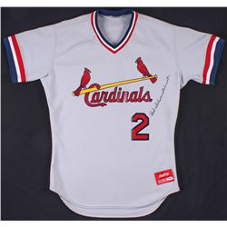 Red Schoendienst Signed St. Louis Cardinals Jersey (PSA COA)