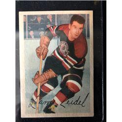 1953-54 Parkhurst #73 Larry Zeidel RC