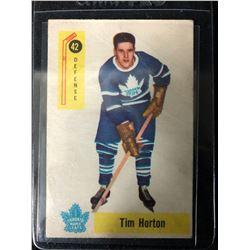 1958-59 Parkhurst Tim Horton #42