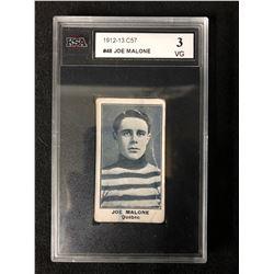 1912-13 C57 #48 JOE MALONE (3 VG)