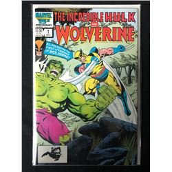 THE INCREDIBLE HULK & WOLVERINE #1 (MARVEL 25TH ANNIVERSARY)