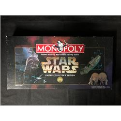 LIMITED COLLECTOR'S EDITION STAR WARS MONOPOLY