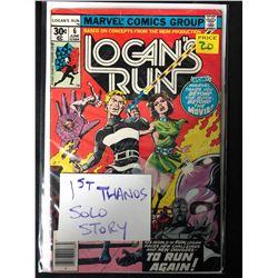 LOGAN'S RUN #6 (MARVEL COMICS)