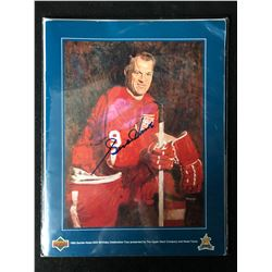 1993 Upper Deck Signed Gordie Howe's 65th Birthday Tour Program