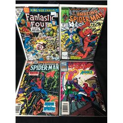 COMIC BOOK LOT (SPIDER-MAN/ FANTASTIC FOUR)