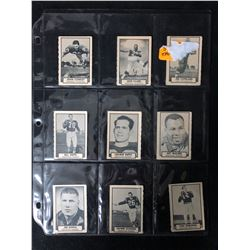 1962 TOPPS CFL FOOTBALL CARDS LOT (COPELAND/ CONROY/ CLARK...)