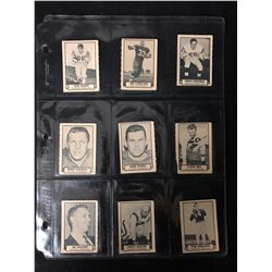 1962 TOPPS CFL FOOTBALL CARDS LOT