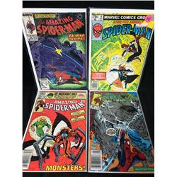 THE AMAZING SPIDER-MAN COMIC BOOK LOT (MARVEL COMICS) #305/ 14/ 235/ 328