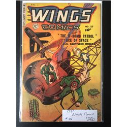 1951 WINGS COMICS #115