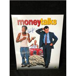 "Charlie Sheen Signed ""Money Talks"" 16"" x 20"" Photo (MAB Hologram)"
