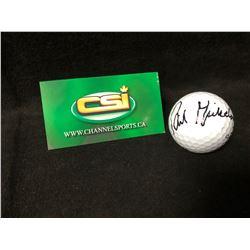 PHIL MICKELSON SIGNED GOLF BALL (CSI COA)