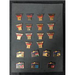 1994 VICTORIA XV COMMONWEALTH GAMES LIMITED EDITION COMMEMORATIVE PINS